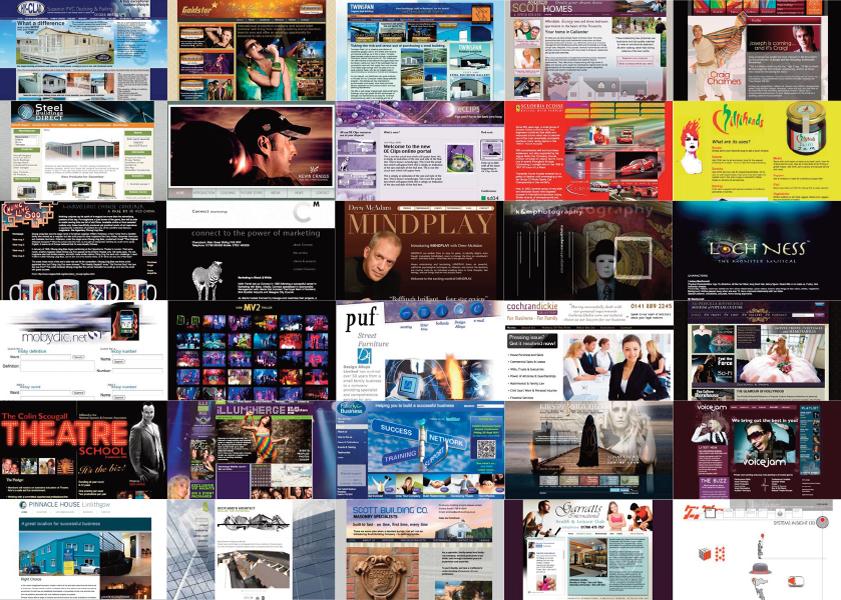 online brand image from IDEAS website design scotland